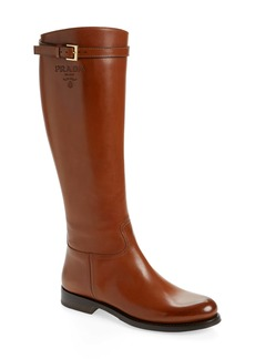 Prada Knee High Riding Boot (Women)