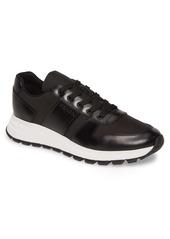 Prada Nylon & Leather Runner Sneaker (Men)