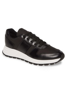 Prada Nylon & Leather Runner Sneaker (Men)
