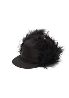 Prada Nylon and mohair baseball cap