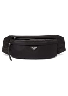Prada Nylon double-zip belt bag