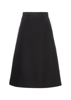 Prada Nylon Midi Skirt