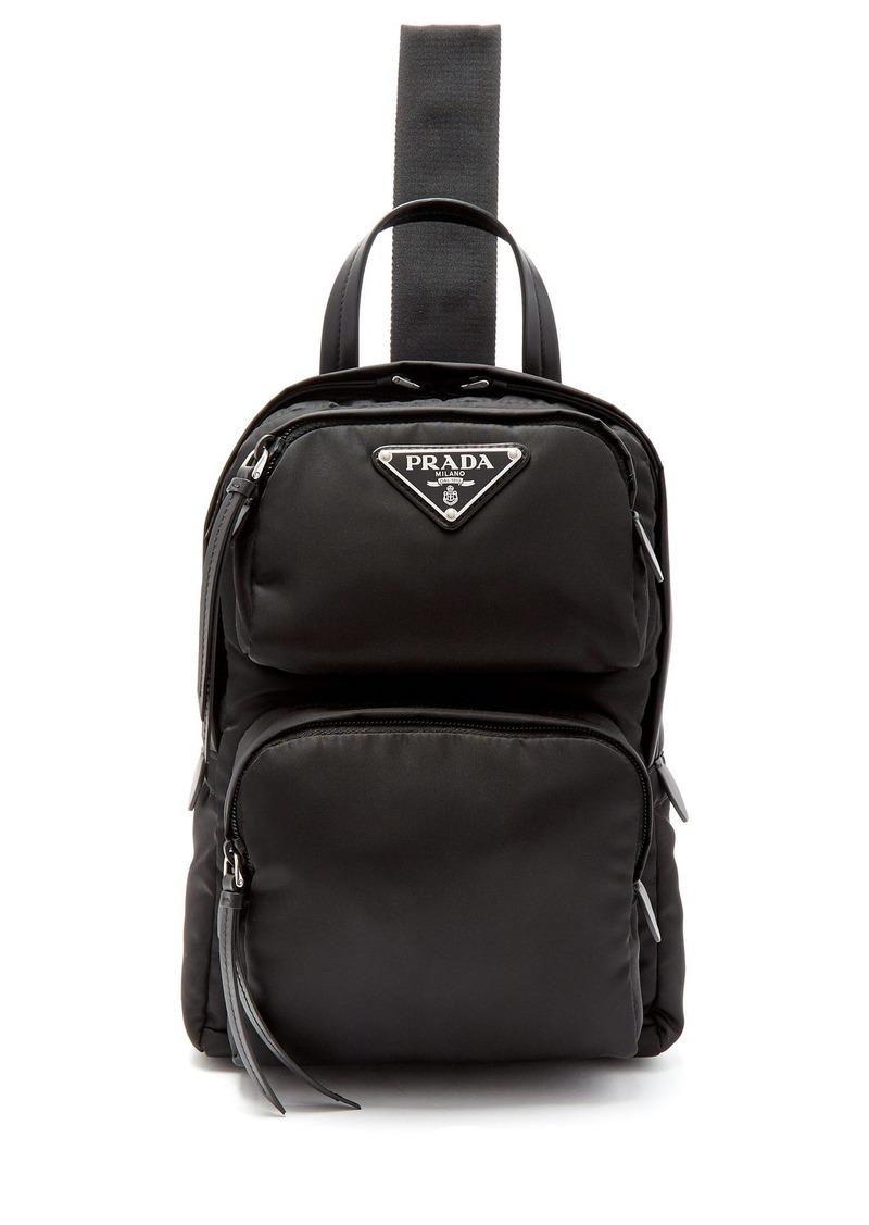 200a2b698513 Prada Prada Nylon single-strap cross-body backpack