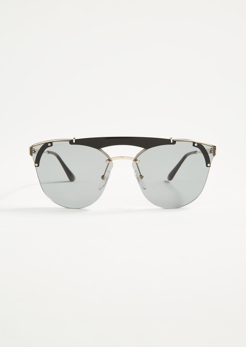 1dc6c3e369dd Prada Prada Ornate Aviator Sunglasses