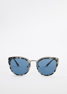 Prada PR 20US Oversized Cat Eye Tortoise Sunglasses