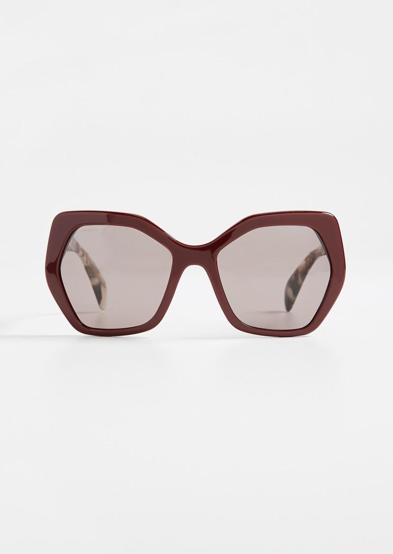 2dee860319 Prada Prada Oversized Geometric Glasses