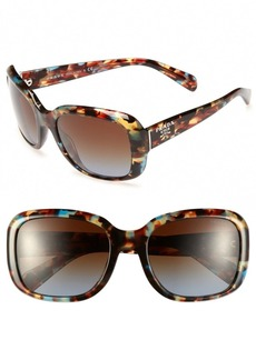 Prada 'Oversized Glam' 57mm Sunglasses