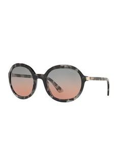 Prada Oversized Round Acetate Sunglasses