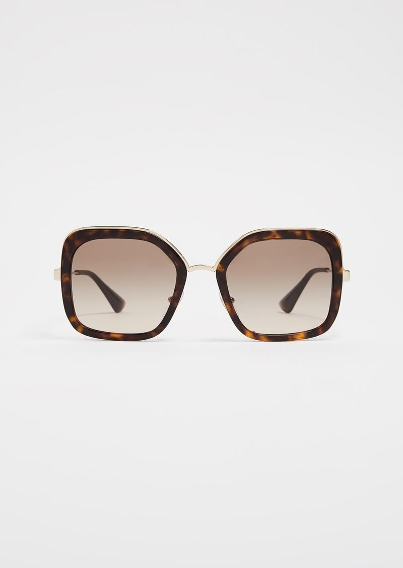 45292f0896dd SALE! Prada Prada Oversized Square Sunglasses