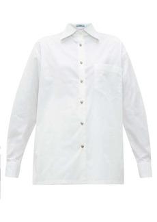 Prada Patch-pocket cotton shirt