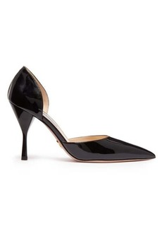 Prada Patent-leather d'Orsay pumps