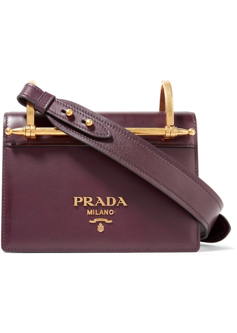 e0554b0bdf95f6 On Sale today! Prada Pattina Leather Shoulder Bag