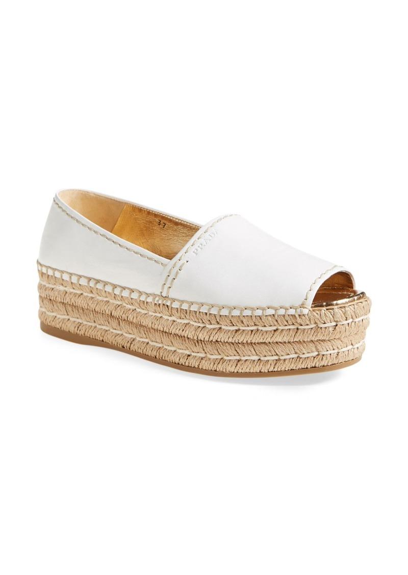 aacb769bcc0 Peep Toe Flatform Espadrille (Women)