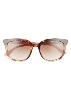 Prada Pillow 53mm Cat Eye Sunglasses