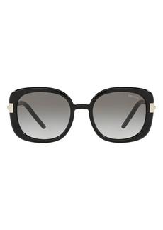 Prada Pillow 53mm Gradient Round Sunglasses