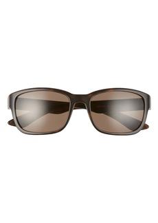 Prada Pillow 57mm Rectangle Sunglasses