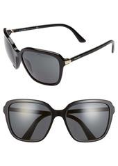 Prada Pillow 58mm Square Sunglasses