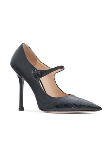 Prada Pin Heel Mary Jane Pump (Women)