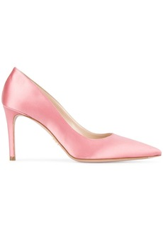 Prada Pink 85 Satin pumps - Pink & Purple