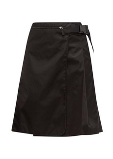 Prada Pleated nylon skirt