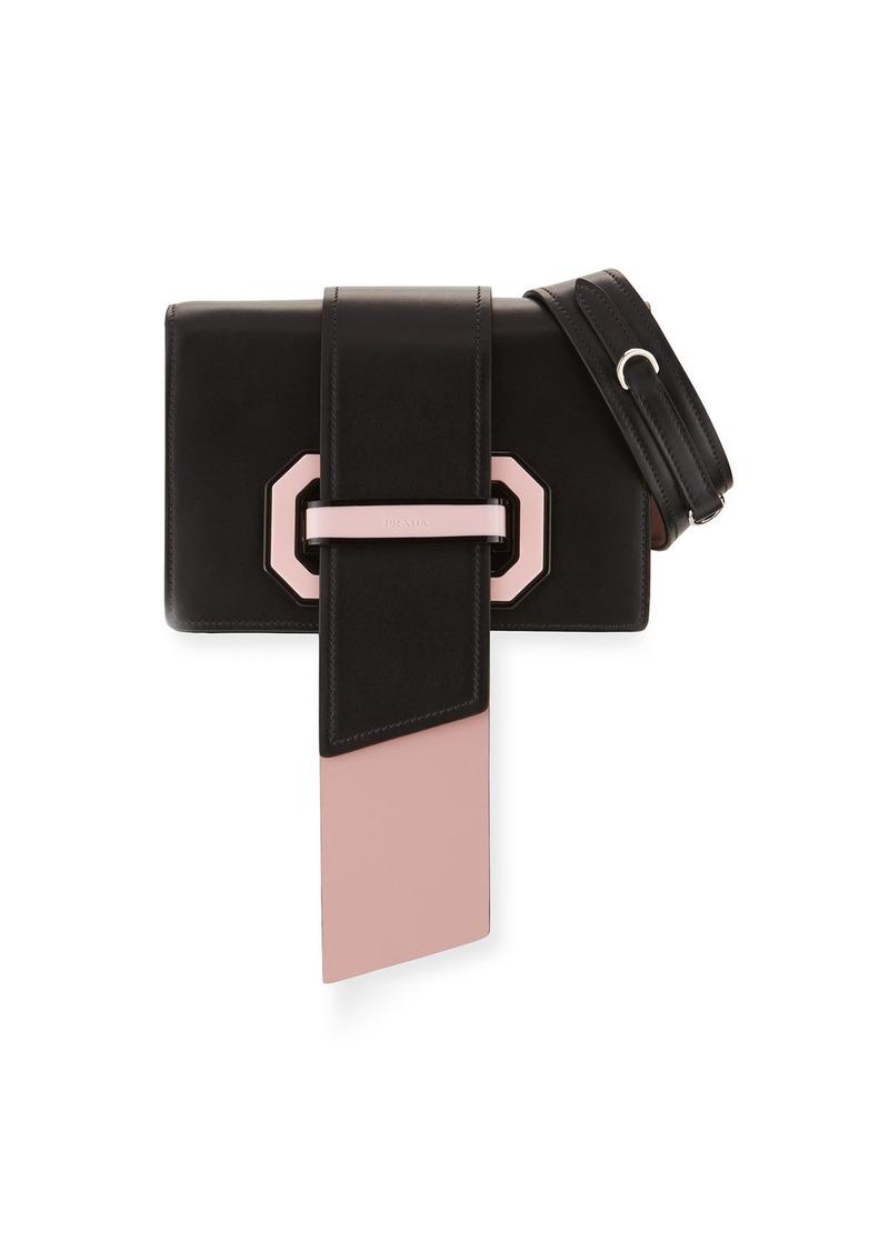 6a96216831a2 Prada Prada Plex Ribbon Geometric Small Shoulder Bag | Handbags