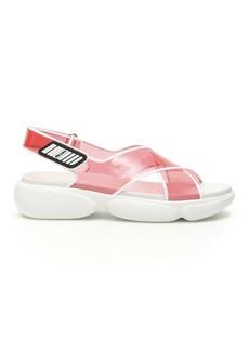 Prada Plexi Cloudbust Sandals