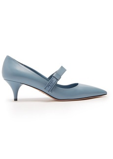 Prada Point-toe leather pumps