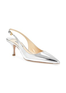 Prada Pointy Toe Slingback Sandal (Women)