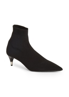 Prada Pointy Toe Sock Bootie (Women)