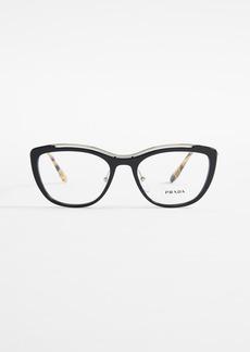 Prada PR 04VV Metal Eyeglasses