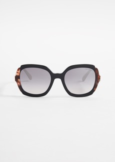 Prada PR 16US Square Sunglasses