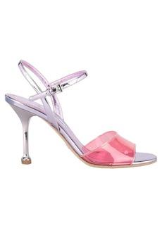 Prada Prada Transparent Strap Sandals