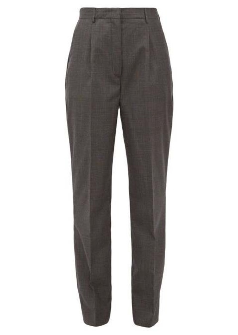 Prada Prince of Wales-check wool trousers