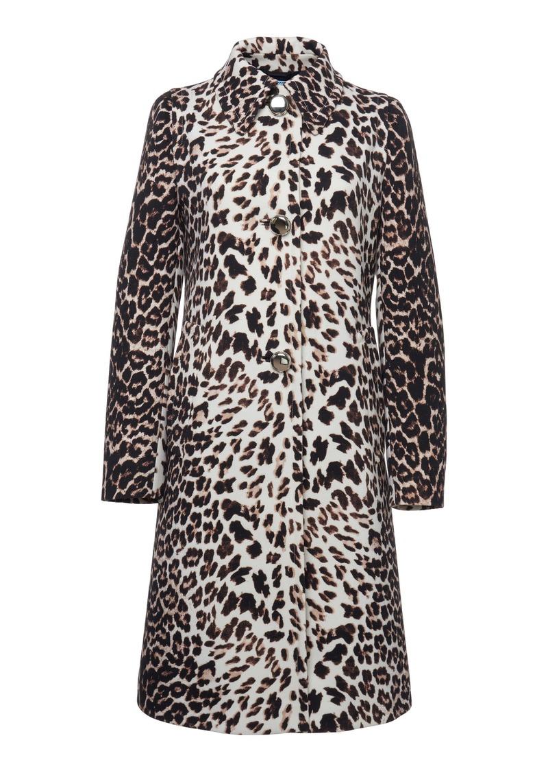 Prada Printed Gabardine Coat