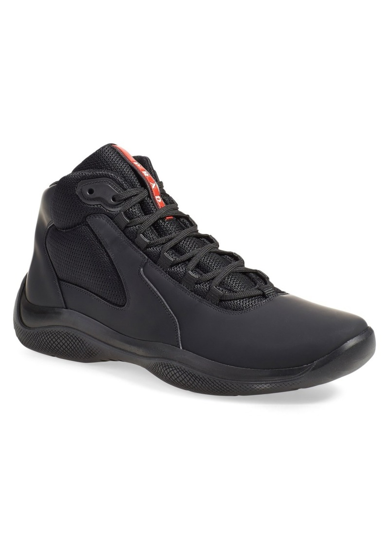 d55a0670de Prada Prada  Punta Ala  High Top Sneaker (Men)