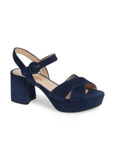 Prada Quarter Strap Platform Sandal (Women) (Nordstrom Exclusive)