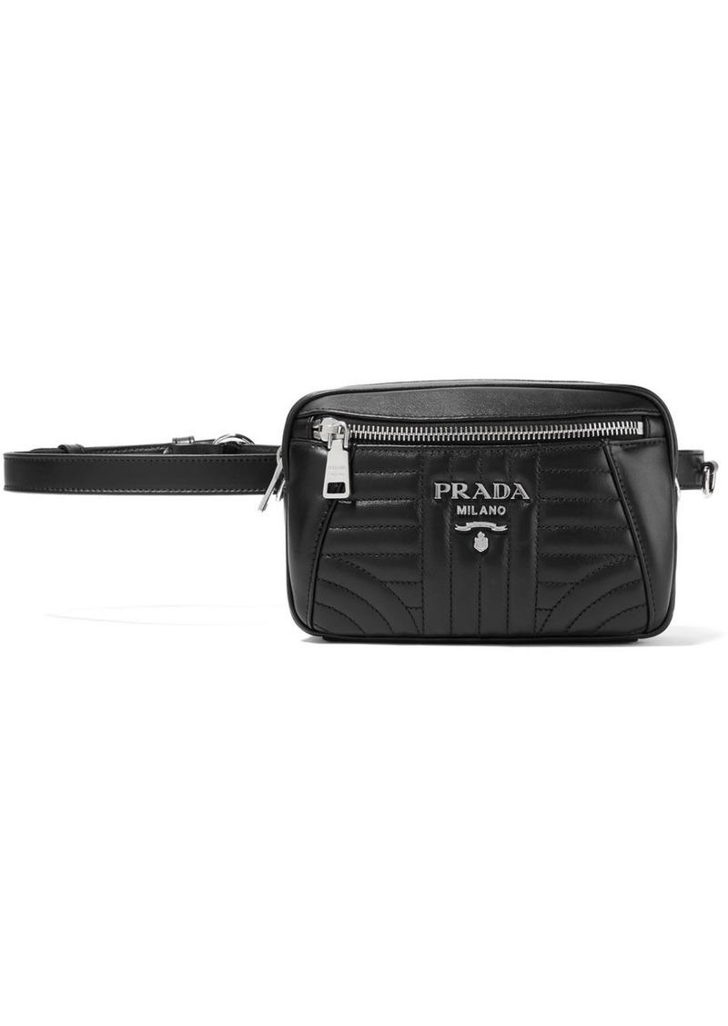 a66134f90586 Prada Quilted leather belt bag | Handbags