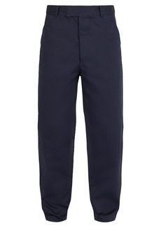 Prada Relaxed-fit cotton trousers