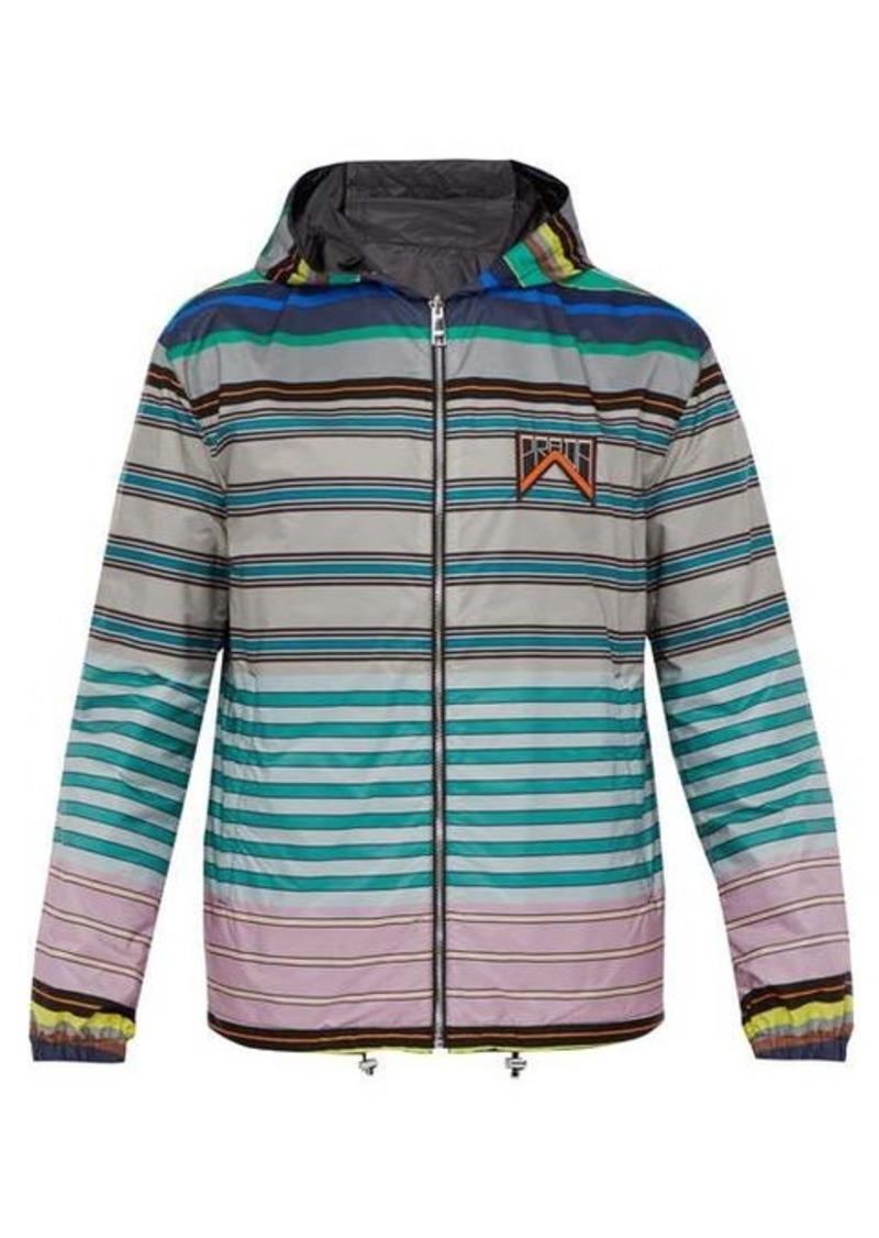 Prada Reversible hooded technical jacket
