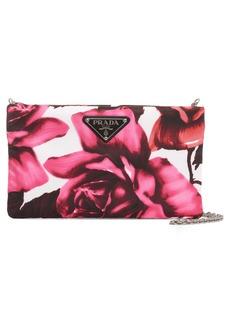 Prada Roses Nylon Shoulder Bag