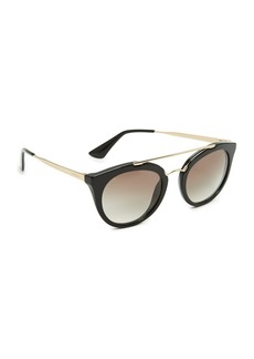 Prada Round Aviator Sunglasses