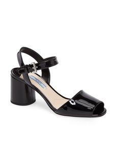 Prada Round Heel Sandal (Women)