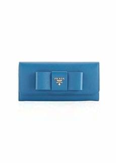 Prada Saffiano Continental Flap Wallet
