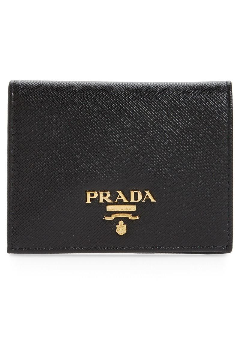 Prada Saffiano French Wallet