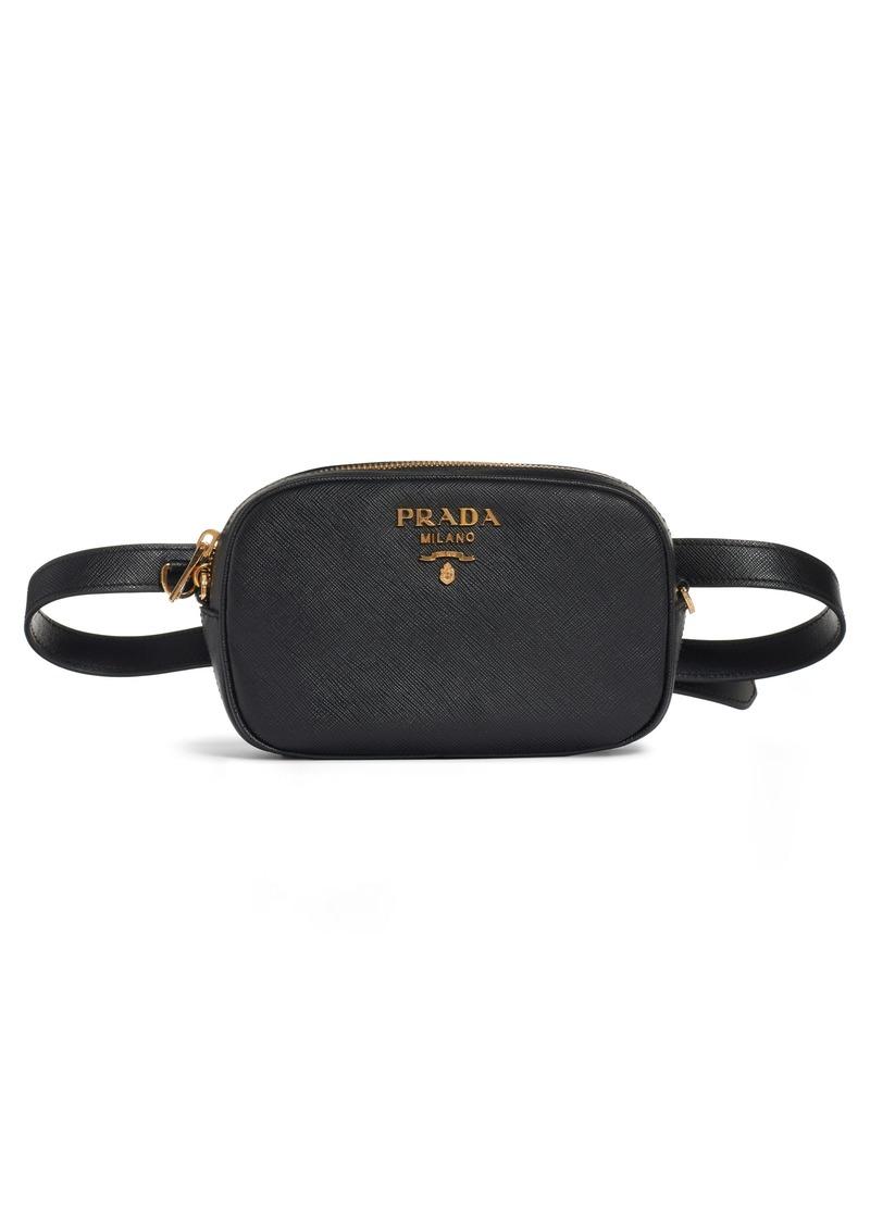 7e107154f7 Prada Prada Saffiano Leather Belt Bag