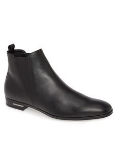 Prada Saffiano Chelsea Boot (Men)