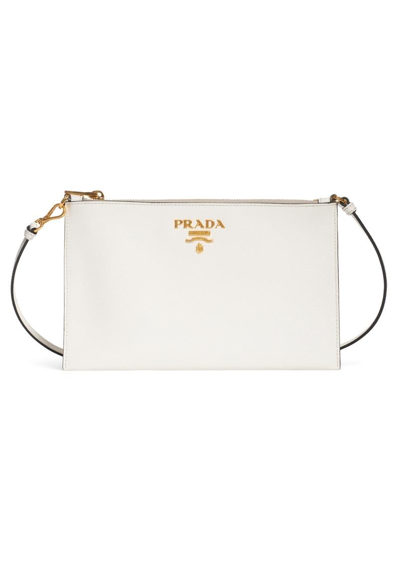f89d4f66bf4d Prada Prada Small Saffiano Leather Shoulder Bag | Handbags