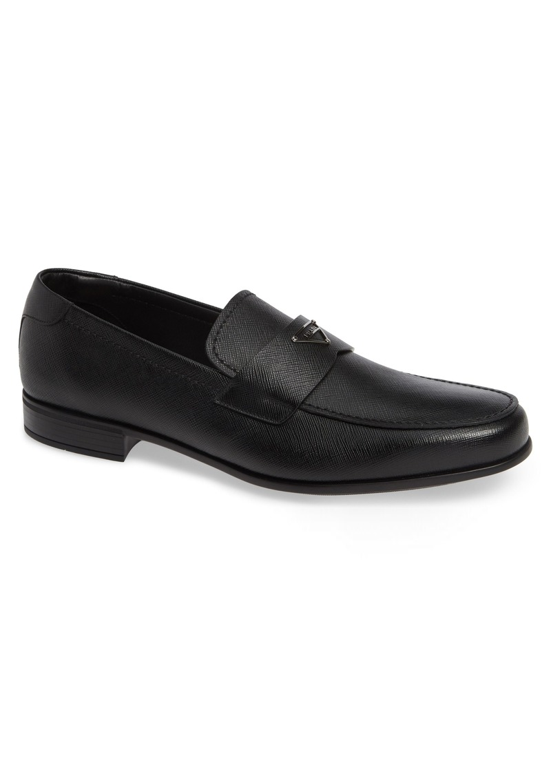 Prada Saffiano Loafer (Men)
