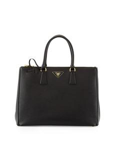 Prada Saffiano Medium Executive Tote Bag  Black (Nero)