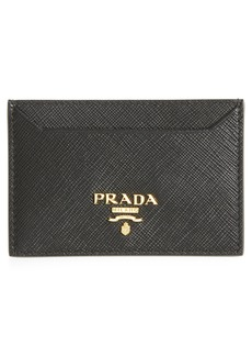 Prada Saffiano Leather Card Case
